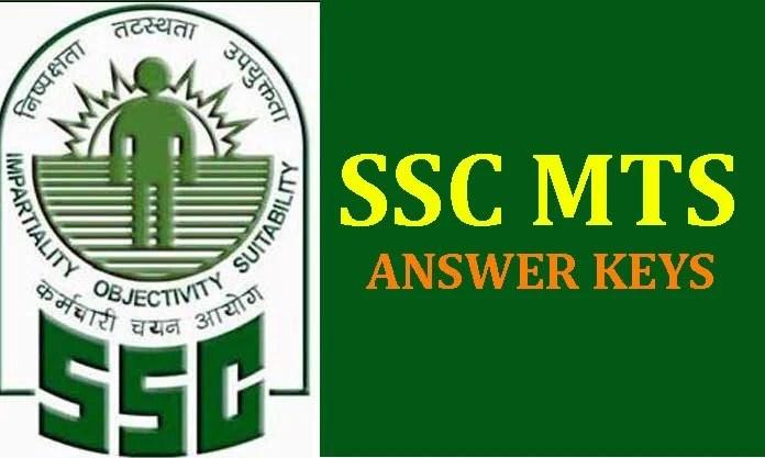 SSC, SSC MTS 2016, SSC MTS Answer Keys, Government Jobs, Jobs, SSC MTS Results