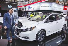 Nissan, FLO, 2018 Canadian International Auto Show