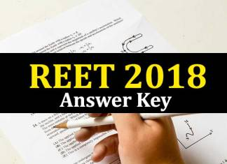 REET Answer Key 2018, REET Answer Key 2018 Social Science, REET 2018 Answer Key Paper 2, REET 2018, RBSE REET 2018