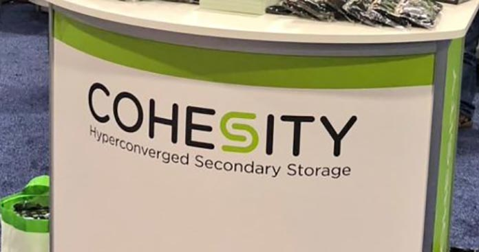 Cohesity, Theo Hourmouzis, Hyperconverged secondary storage