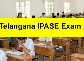 Telangana IPASE Exam Latest Updates: Exam begins on May 14
