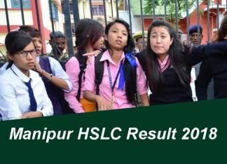 Manipur HSLC Result 2018, BSEM Class 10 Result, Manipur, BSEM