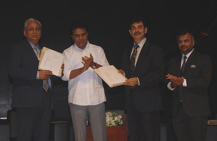 Telangana partners Tech Mahindra to launch India's first Blockchain District