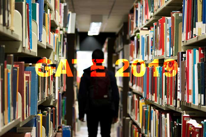 The extended closing date for submission of online application for GATE 2019 will be October 1, 2018.