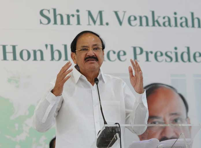 VP Venkaiah Naidu tells private education institutes to subsidize and earmark seats for poorer sections