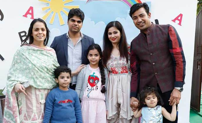 The families of MP Ferozabad Akshay Yadav and CEO of TSWY Ghaziabad Namna Mittal.