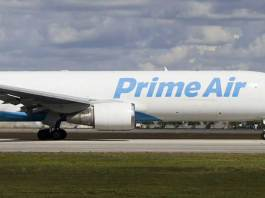 Amazon Prime Air cargo plane with 3 aboard crashed into Trinity Bay: FAA