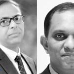 Puneesh Lamba, SVP & Group CIO, CK Birla Group and Harnath Babu, CIO, KPMG India (File Photo)