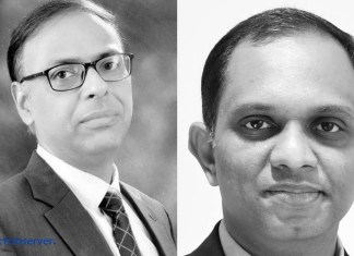 Puneesh Lamba, SVP & Group CIO, CK Birla Group and Harnath Babu, CIO, KPMG India (File Photo)