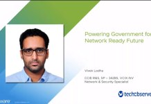 Vivek Lodha, Senior Systems Engineer, Network, VMware