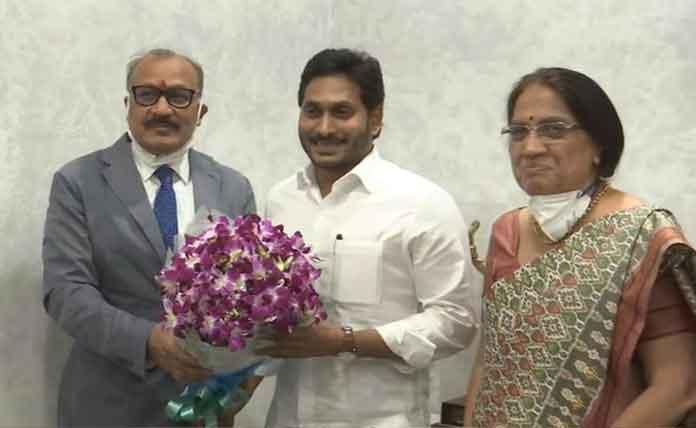 Top IAS officer Aditya Nath Das takes charge as Andhra Pradesh Chief Secretary