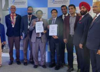 Hyderabad-based firm Grene Robotics said it has signed an MoU with Bharat Electronics Limited (BEL) at Aero India 2021 to jointly develop Autonomous Man-portable Air-Defence Data Link (AMDL) system