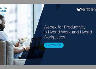 Webex for Productivity in Hybrid Work and Hybrid Workplaces