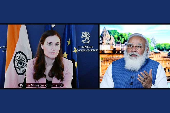 Prime Minister Narendra Modi and his Finnish counterpart Sanna Marin have announced a digital partnership that is likely to facilitate research and development of 6G mobile technologies