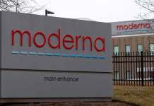 Moderna Technology Center (MTC) in Norwood, Massachusetts