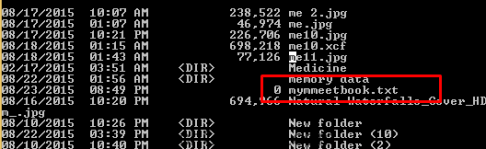 Rename File Using CMD