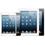 iPad mini と第3世代 iPad の比較