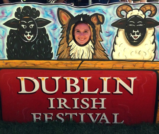 The festival is a massive celebration of Irish culture and history.