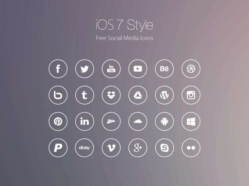 ios9-style-flat-social-icons