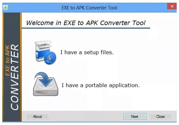 Online apk converter to file exe How to