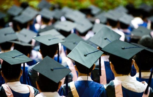 Graduation image via Shutterstock