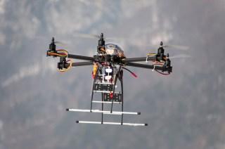Drone image via Shutterstock