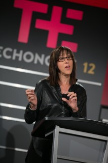 Doreen Lorenzo speaks at the Techonomy 2012 conference.