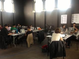 The Lab's multidisciplinary team at work.