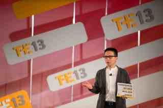 John Maeda at Techonomy 2013. (Photo: Asa Mathat)