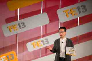 John Maeda at Techonomy 2013. (Photo: Asa Mathat)