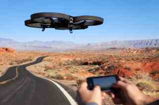 The Parrot AR Drone 2.0.