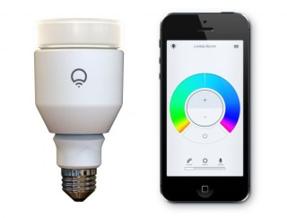 The LIFX bulb and app