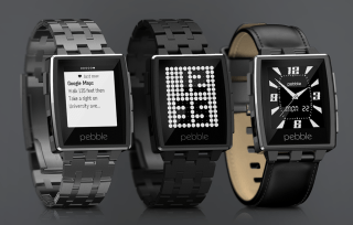 The Pebble Steel
