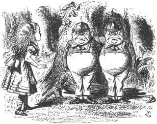 HP and Compaq, HPE and HPQ, Tweedledee and Tweedledum– better together? It may not matter. Now they're apart.
