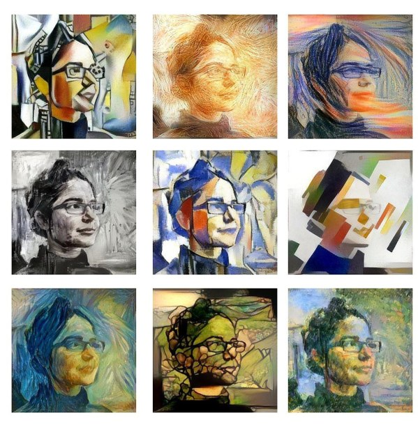 Style transfer technology as deployed on mobile devices on Dreamscope. Original image source by Christopher Michel.