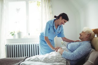 Eldercare in homes already employs 2.5 million in the U.S. and is set to double, even as technology like that from Honor improves its quality. (Photo courtesy Shutterstock)