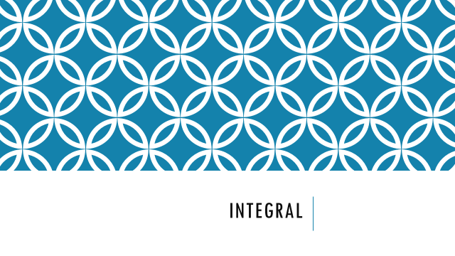 Integral PowerPoint Template
