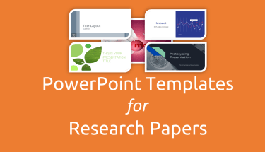 research paper presentation format