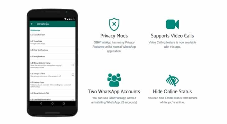 GBWhatsApp Apk Download Latest Version 6.70 Updated | 2019
