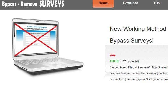 Survey Remover - Techorhow