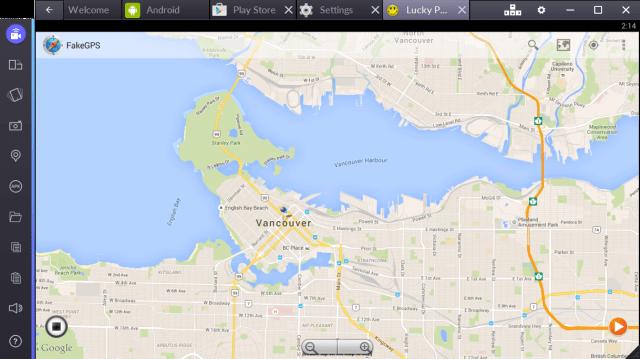 Gake GPS Map
