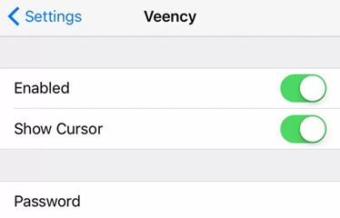 Control iPhone using Veency
