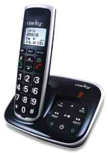 Amplified phone with digital answering machine
