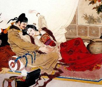 唐玄宗與楊貴妃(畫像)