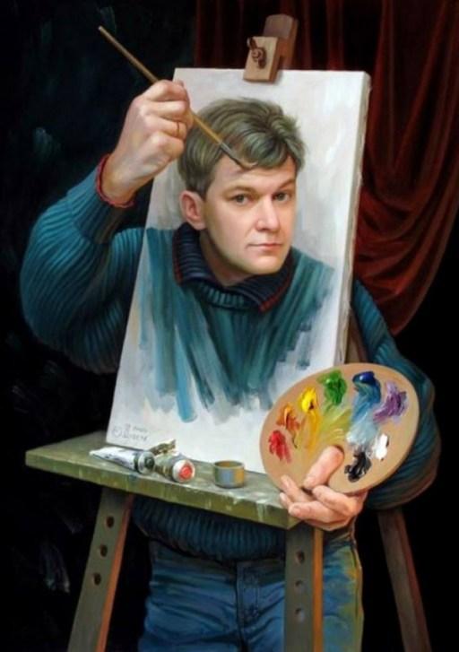畫家的自畫像