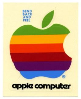 第一代蘋果貼紙