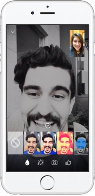 Facebook Messenger 推出視訊 4 大新功能