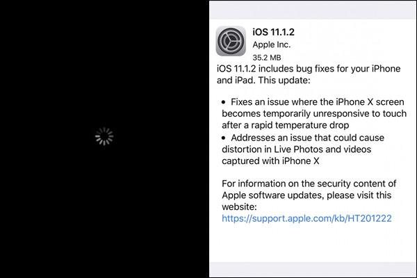 iphone iOS 11.2