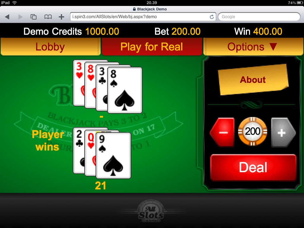 Casino games for ipad 1