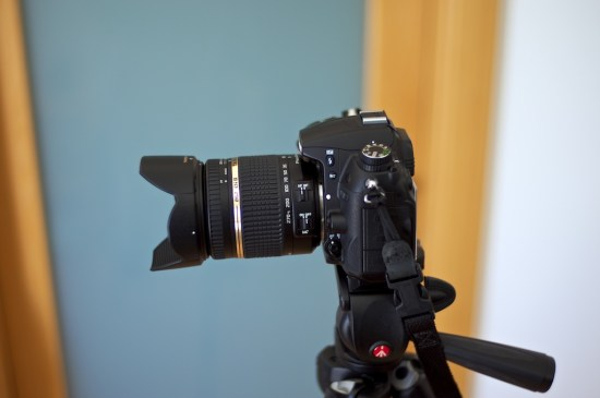 Tamron 18-270mm on Nikon D7000 - zoomed out to 18mm.